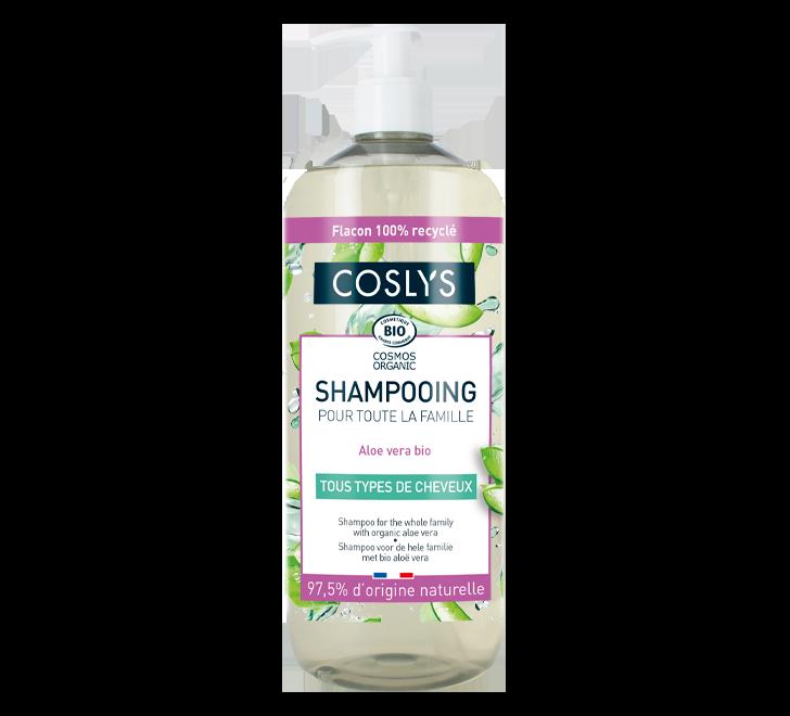 Shampoo for the whole family with organic aloe vera