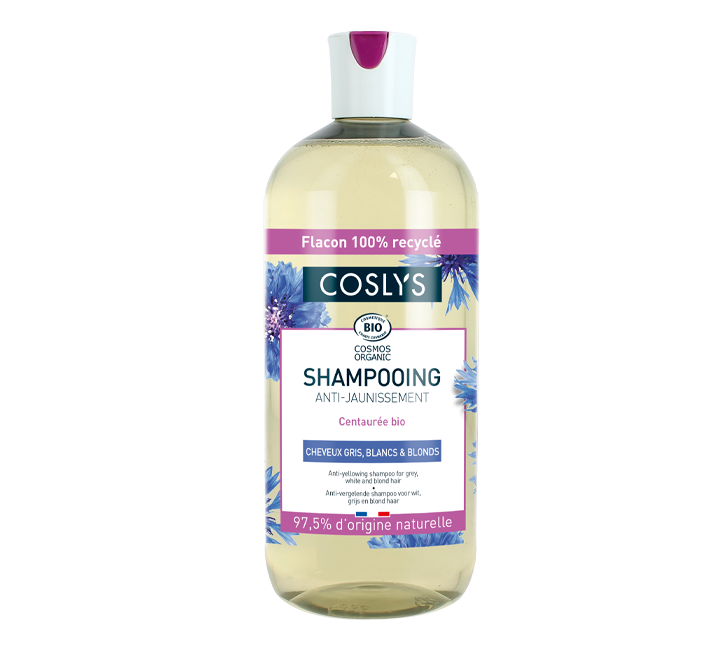 ANTI-YELLOWING SHAMPOO FOR GREY, WHITE AND BLOND HAIR