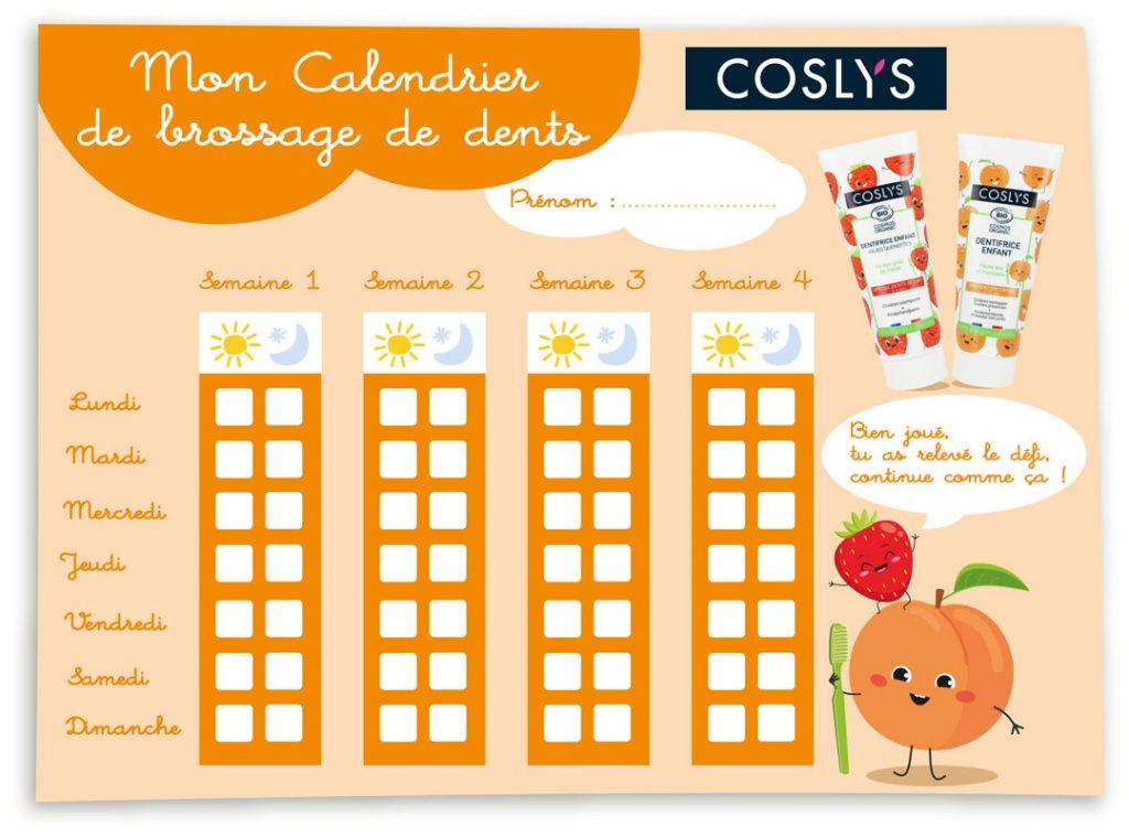 calendrier coslys
