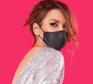 Femme masque anti covid