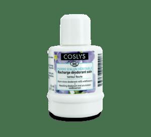 Recharge déodorant soin à la pierre d'alun senteur fleurie Coslys