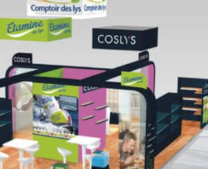 Nat Expo 2017 stand Coslys