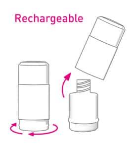 Déodorant rechargeable Coslys